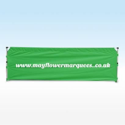 instant shelter gazebo half wall green 3m