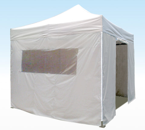 white 3m sidewall kit for heavy duty instant shelters gazebos
