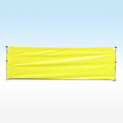 instant shelter gazebo half wall yellow 4.5m
