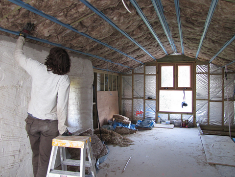How to check up already Insulation Construction