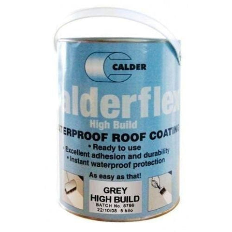 Flex High Build - Waterproof Roof Coating 5Kg - All Colours