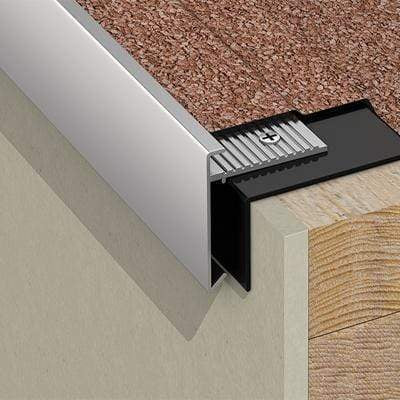 Image of AF2 Aluminium Roof Edge External Angle 45mm x 45mm - Ryno Outdoor & Garden