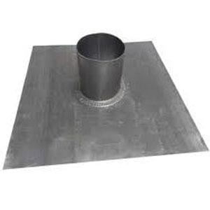Lead Slate 4 Inch 450mm x 450mm Base - 90 Degree - Calder Roofing