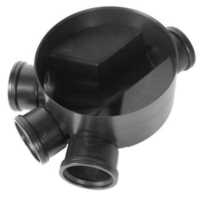 3 Inlet Base Chamber - 320mm - Clark-Drain Drainage