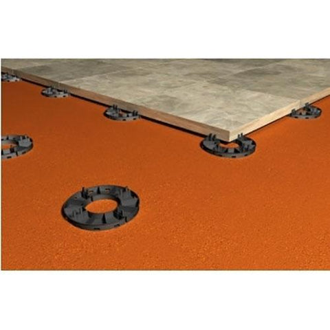 Image of RPS9 Rubber Support Pad 120mm x 9mm - Ryno Outdoor & Garden