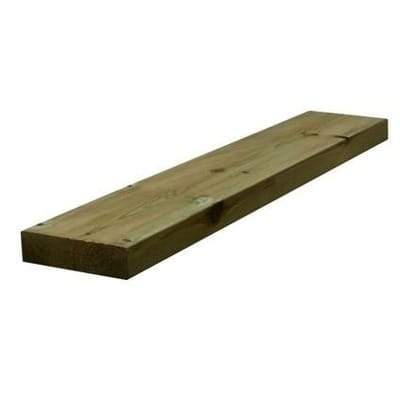 "47mm x 175mm (7""x2"") Treated C24 Carcassing Timber - 4.8m (16ft) - Build4less Timber"