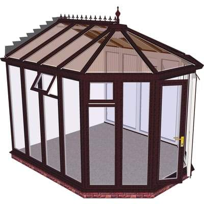 Image of Victorian Full Height Conservatory - Aperture Conservatories