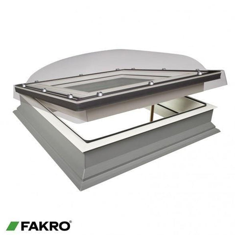 FAKRO DEC-C P2 Electrical Flat Roof Window - All Sizes - Fakro Roofing
