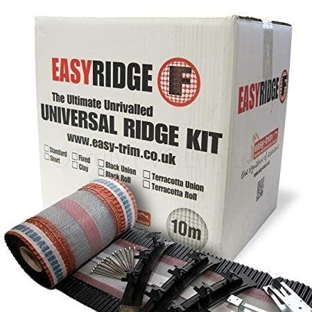 Easyridge Plus Ultimate Dryfix Ridge Kit 6m - Easy Trim Roofing