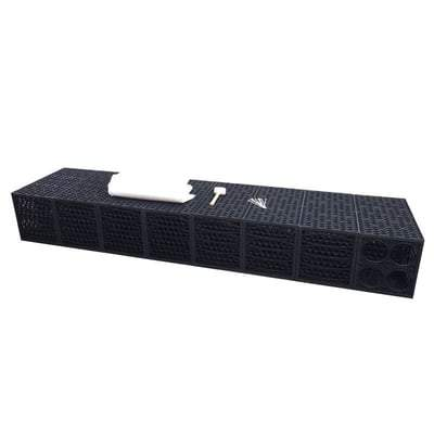 Image of Rainsmart Shallow Soakaway Set Flat Packed 1 Cubic Metre - All Sizes - Rainsmart Drainage
