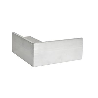 AA2/ AA3 Aluminium Roof Edge Trim External Angle - Full Range - Ryno Outdoor & Garden