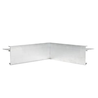 AF3/ AF3L Aluminium Roof Edge Internal Trim - Full Range - Ryno Outdoor & Garden