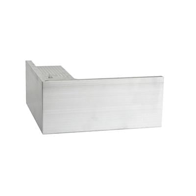 AF4/ AF4L Aluminium Roof Edge External Trim - Full Range - Ryno Outdoor & Garden