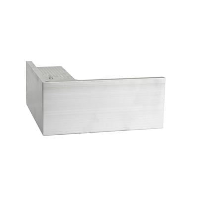 AF4/ AF4L Aluminium Roof Edge Internal Trim - Full Range - Ryno Outdoor & Garden