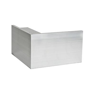 AF5 Aluminium Roof Edge External Angle 110mm x 64mm - Ryno Outdoor & Garden