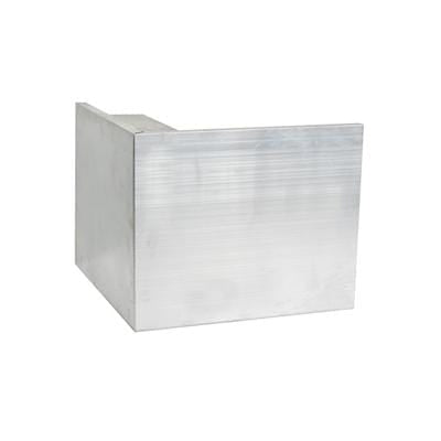 AF6 Aluminium Roof Edge External Angle 150mm x 64mm - Ryno Outdoor & Garden