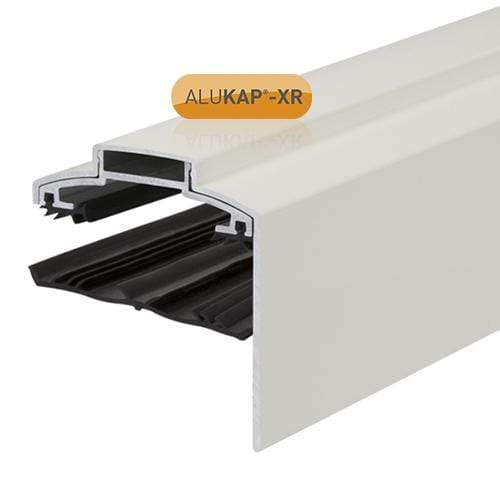 ALUKAP-XR 60mm Aluminium Gable Bar 3m 55mm with Rafter Gasket and End Cap - Clear Amber Roofing