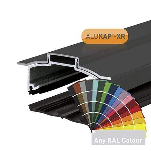 Alukap-XR Hip Bar 3m 55mm SL Fit with Rafter Gasket and End Cap