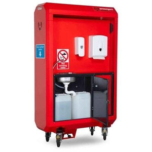 SaniStation Pro Mobile Hand Sanitising Water Station - Armorgard Sanitation Station