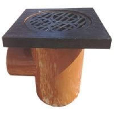 Drainage Bottle Gully Square Grid - 110mm - PBSL Drainage