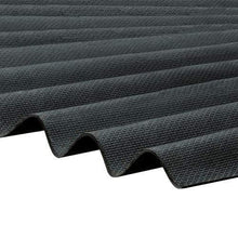 Load image into Gallery viewer, Corrapol-BT Corrugated Roofing Sheet 930 X 2000mm - Black - Clear Amber Roofing