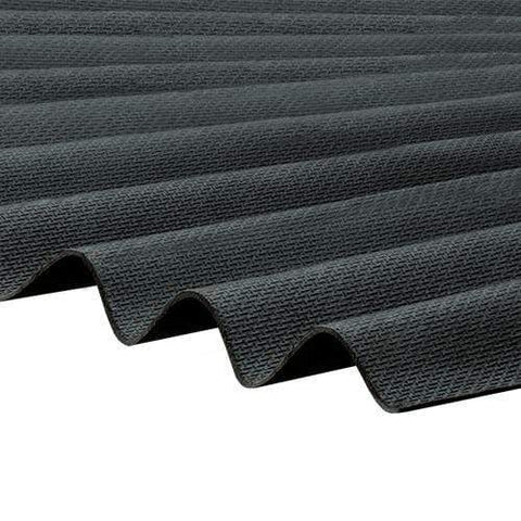 Image of Corrapol-BT Corrugated Roofing Sheet 930 X 2000mm - All Colors - Clear Amber Roofing
