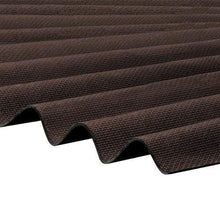 Load image into Gallery viewer, Corrapol-BT Corrugated Roofing Sheet 930 X 2000mm - Brown - Clear Amber Roofing
