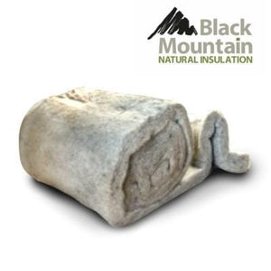 Black Mountain Natuwool Rolls 75mm x 600mm x 7500mm - Black Mountain Insulation
