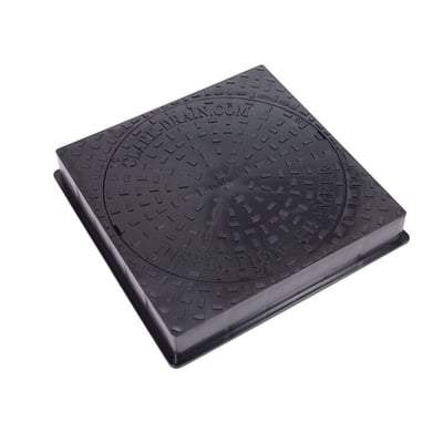 Inspection Chamber Square Manhole Cover & Frame - 580mm (3.5 Tonne) - Clark Drain Drainage