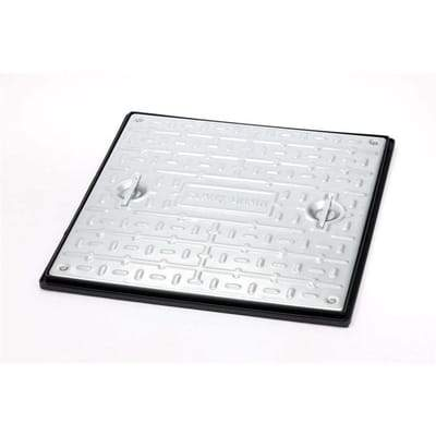 Double Sealed Manhole Cover and Frame 600 x 600 x 30mm (5 Tonne GPW) - Clark-Drain Drainage