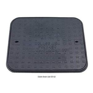 Class Cast Iron Manhole Cover and Frame 600 x 450 x 27mm (1.5 Tonne) - Clark-Drain Drainage