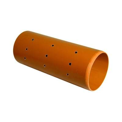 Perforated Underground Pipe