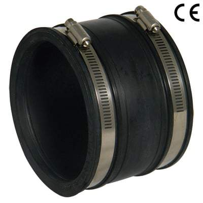 Image of 110mm - 115mm Flexible Coupling Straight - Mission Rubber Drainage