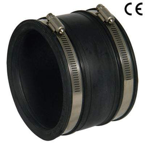 110mm - 115mm Flexible Coupling Straight - Mission Rubber Drainage