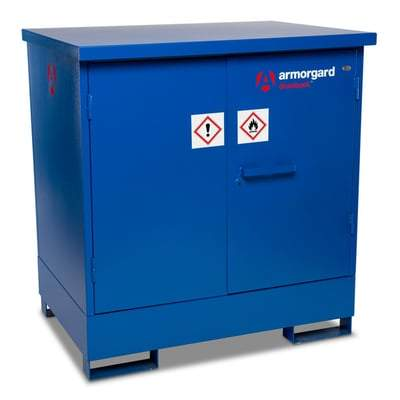 DrumBank Drum Enclosed Storage Unit DB2 & DB4 - Armorgard Tools and Workwear