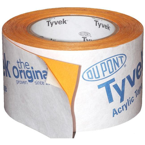 Tyvek 2060B Single Sided Acrylic Tape 75mm x 25mm - Tyvek Insulation
