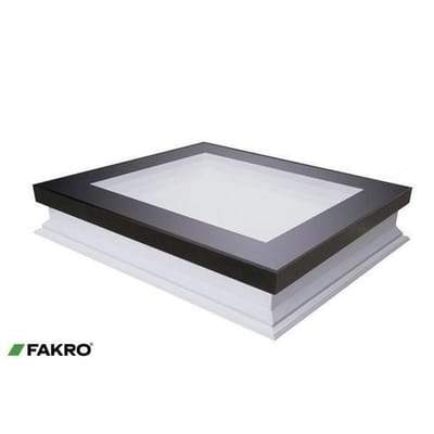 FAKRO DXF-D U6 Secure Fixed Shut Flat Roof Window - All Sizes - Fakro Roofing