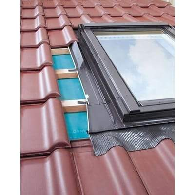 FAKRO EZW-A MOE Flashing For up to 45mm Profiles Tiles - All Sizes - Fakro Roofing
