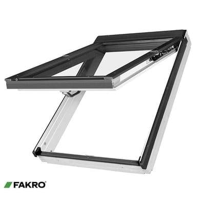 FAKRO FPU-V P2 White PU Coated Pine PreSelect Window - All Sizes - Fakro Roofing