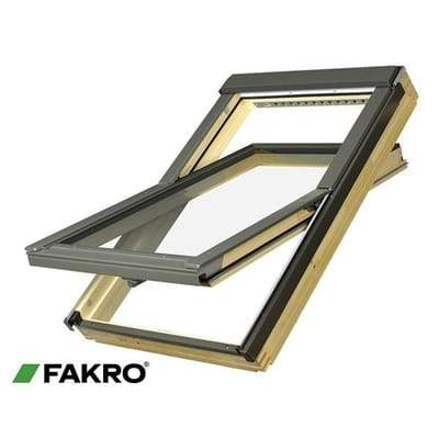 FAKRO FTP-V P2 Natural Pine Ctr Pivot Window - All Sizes