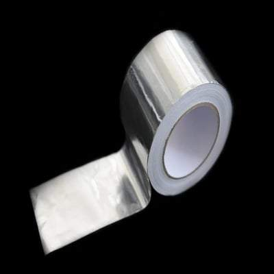 Aluminium Foil Lap Tape - All Sizes - Novia Insulation