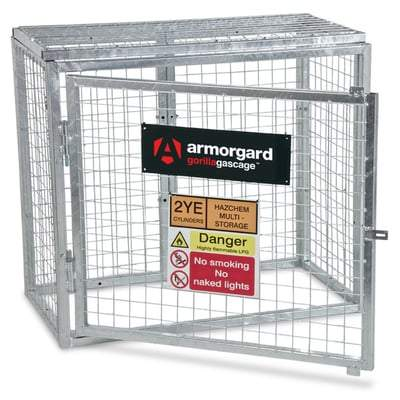 Gorilla Gas Bottle Cages - All Sizes - Armorgard Tools and Workwear