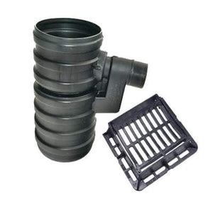 Yard Gully Set with Ductile Iron Gating - 40 Tonne x 450mm x 750mm x 160mm Outlet - PBSL Drainage