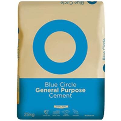 Blue Circle General Purpose Cement 25 Kg - Blue Circle Building Materials