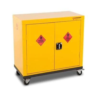 Image of Hazardous Mobile Storage Cupboard HMC1 & HMC2 - Armorgard Tools and Workwear