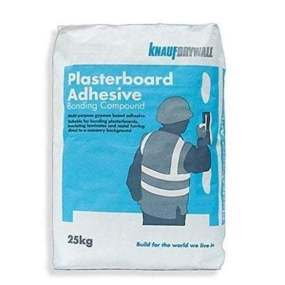 Knauf Bonding Compound Plasterboard Adhesive 25kg - Knauf Building Materials