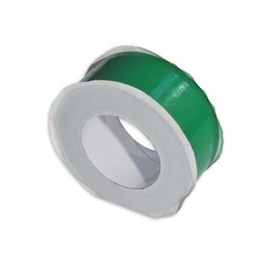 Low Density Polyester Green Tape 150mm x 25m - Qualitape Foam Tape