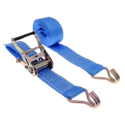2000kg x 6m Ratchet Strap - The Ratchet Shop Tools and Workwear