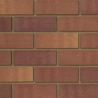 Tradesman Heather Mix Facing Brick 65mm x 215mm x 102mm (Pack of 400) - Ibstock Building Materials