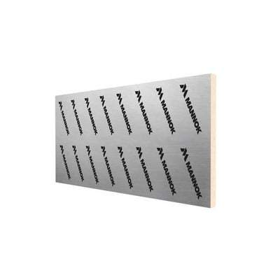 Mannok Therm PIR Insulation board 2.4m x 1.2m - All Sizes - Mannok Insulation